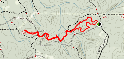 Turkey Hill Trail Map