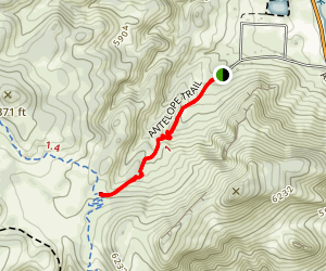 Antelope Trail [CLOSED] Map