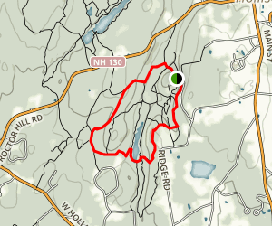 Beaver Brook Trail 2 Map