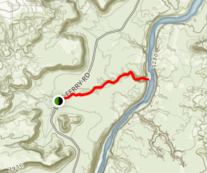 Cathedral Wash Trail Map