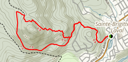 La Montagnard Trail Map