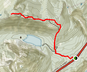 Zoa Peak Trail Map