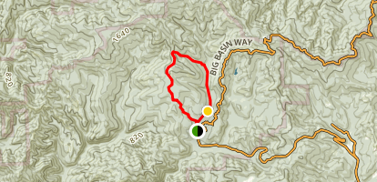 Meteor Loop Trail Map
