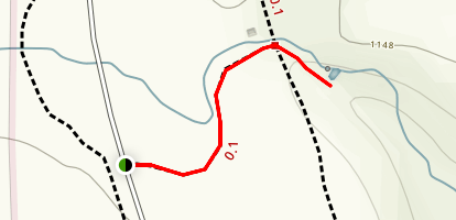 Stephens' Falls Trail Map