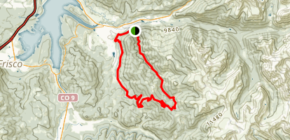 Keystone Gulch Map