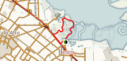 North Bayfront Loop Trail Map