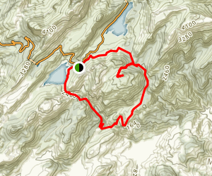 Mallorca Cuber Lake Trail Map