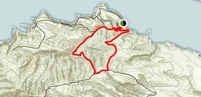 Scorpion Canyon Loop Trail Map