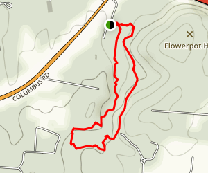Robert's Ridge and Valley Trail Map