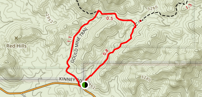 Gould Mine Map