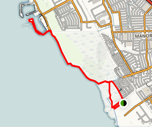 SF Bay Trail: Roberts Landing to Marina Park Map