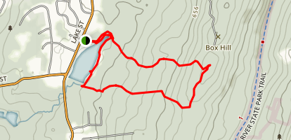 Risley Pond Loop Trail Map