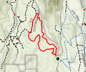 Buckskin Charlie Trail Map