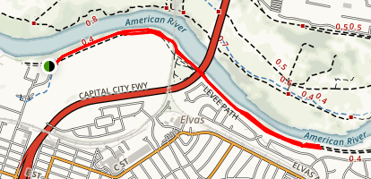 Levee Path Map