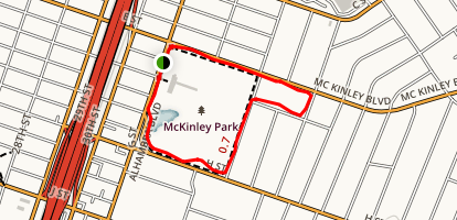 McKinley Park Map