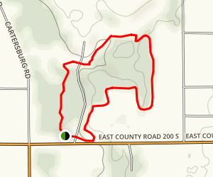 Twin Bridges Loop Trail Map