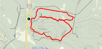 Lookout Mountain Loop Trail Map