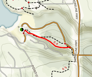 Caspar Headlands Loop Trail Map