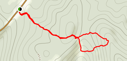West Summit Loop 1B Map