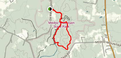 Summit Loop Trail Map