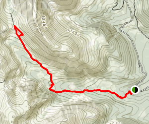 French Pass Trail Map