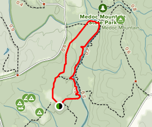Discovery and Stream Loop Trails Map