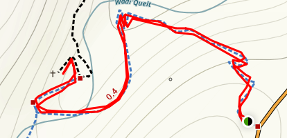 Wadi Quelt (Saint George Monastery)  Map