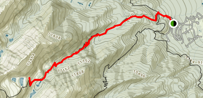Venable Creek Trail Map