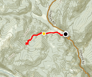 Burning Bear Trail Map