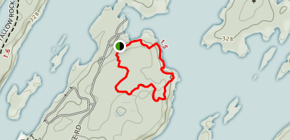 Sandstone Island Trail  Map