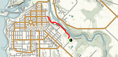 Goderich Millennium Trail Map