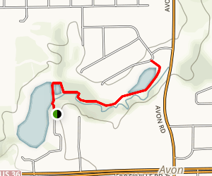 Avon Town Hall Park Trail Map
