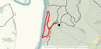 Frenchmans Bluff Trail Loop Map