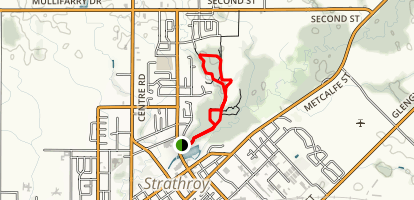 Strathroy Memorial Trail Loop Map