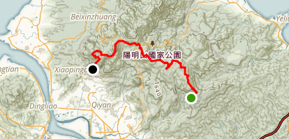 Yangmingshan Trail Map