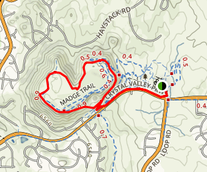 Quarry Mesa Trail Loop Map