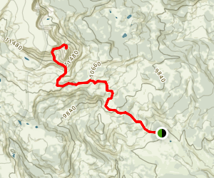 Dome Mountain Trail Map