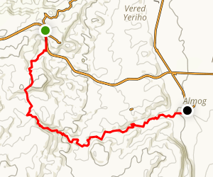 Wadi Og Trail Map