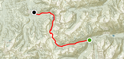 St. Elmo to Tincup Map
