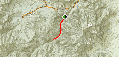 South Fork Trail #243 Map