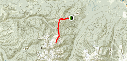 Bottle Pass to Byers Peak Map