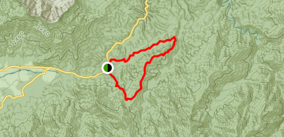 Finley Cane Bote Mountain and Lead Cove Map