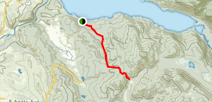 Doe Creek Trail Map