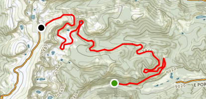 Rollins Pass Map