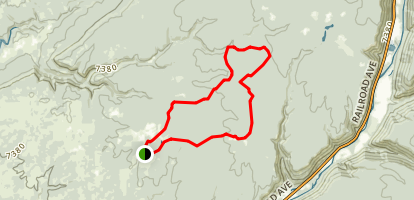 Boggy Draw Trail Map