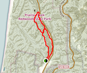 Zig Zag Figure 8 Trail Map