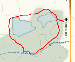 Langdon Park Trail Map