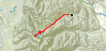 Cedar Lakes Trail Map