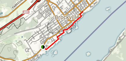 Brockville - Waterfront Trail Map