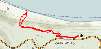 Beach Trail Map